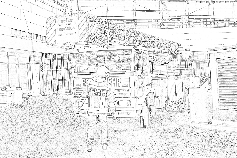 freiwillige feuerwehr kremsdonau  bastel mit feuerwehr