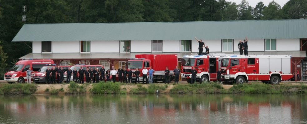 Freiwillige Feuerwehr Krems/Donau - Ausbildung unter Freunden - PolEx 2013